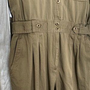 Vintage Pants & Jumpsuits - Awesome vintage green flight suit/jumpsuit!